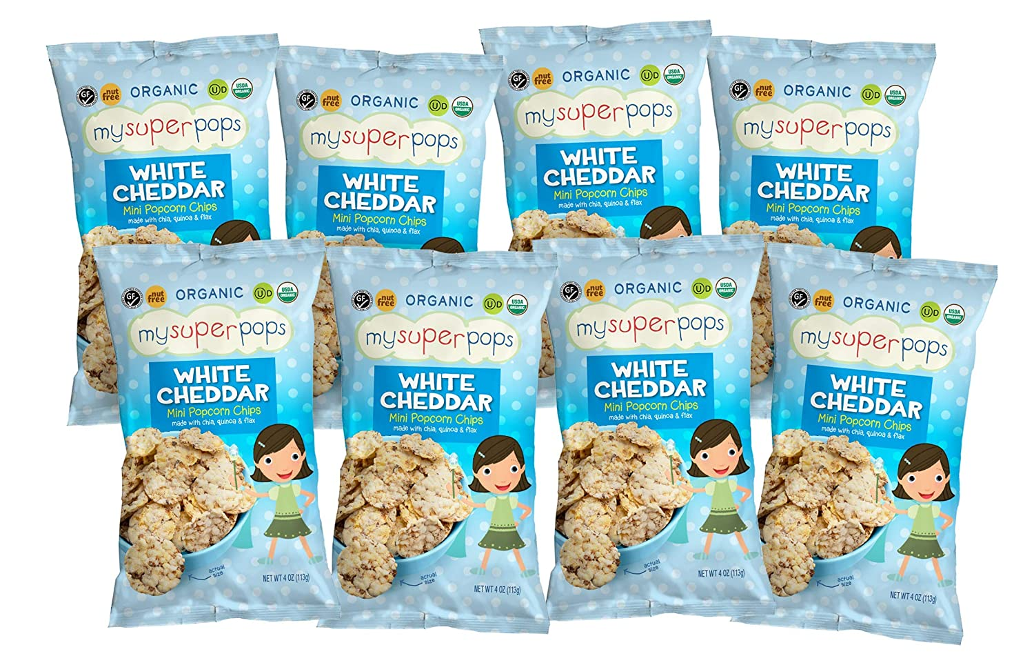 Max 49% OFF MySuperPops Recommended Mini Popcorn Chips Organic Free Wh Kosher Gluten