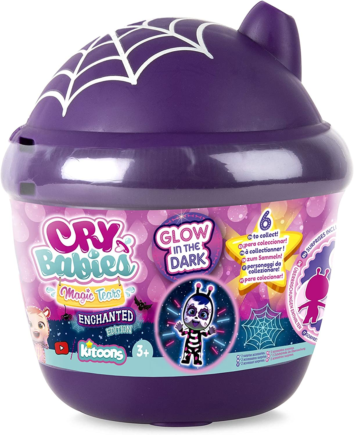 IMC Sale Special Price Toys 91368IM - Cry Babies House Enchanted Bottle Magic Long Beach Mall Tears