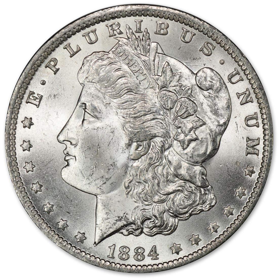 1884 O Morgan Silver Dollar (BU) $1 Brilliant Uncirculated