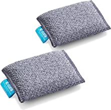 E-Cloth 2 Non scratch Scrubbing Pads Microfiber Sponge Alternative, 3.25in x 4.75in, Gray