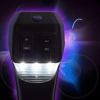 RecPro RV Electric Tongue Jack   3500 lb Capacity   Black   Camper (Trailer) Power Jack
