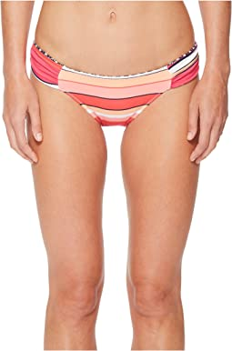 Petals of Paradise Reversible Side-Shirred Hipster Bikini Bottom