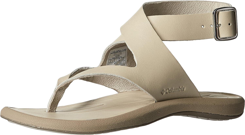 Columbia Womens Caprizee Leather Sandal Athletic Sandal