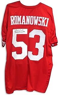 bill romanowski jersey 49ers