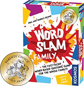 Thames & Kosmos 691172 Card and Word Family   Fast-Paced Multiplayer Party Game   High Playercount   Based On The Award Winning Word Slam, Card