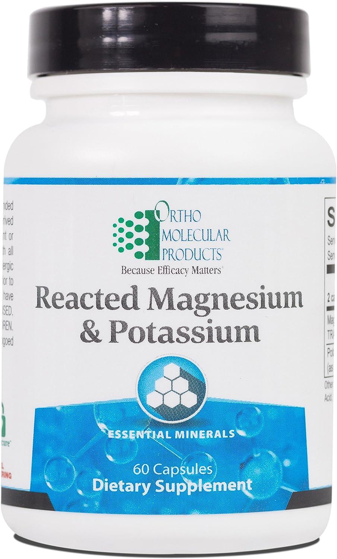 2020秋冬新作 Ortho Molecular 着後レビューで 送料無料 Products - Reacted Ca 60 Magnesium Potassium