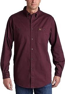 Men's Logger Twill Long Sleeve Workshirt