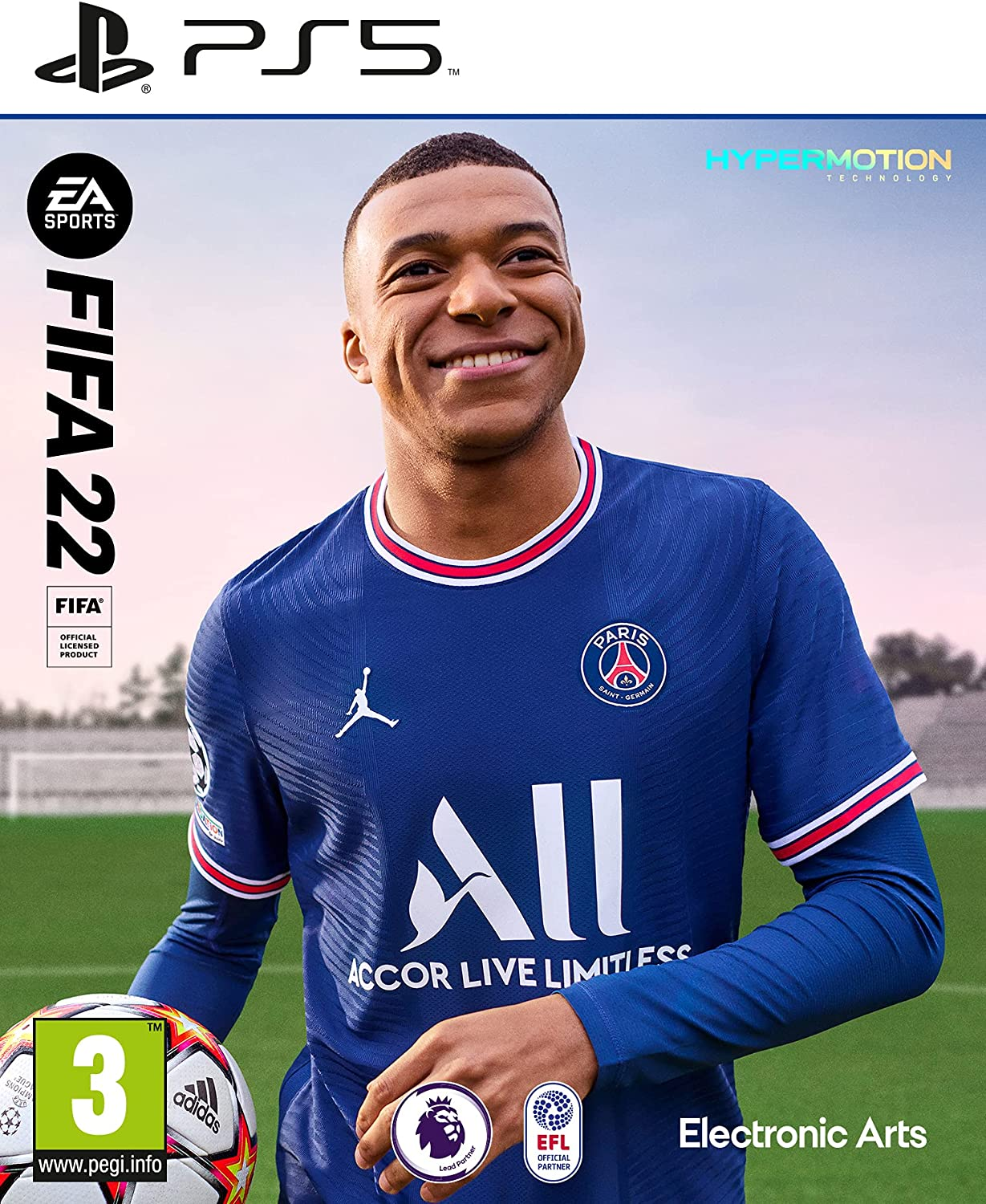 Popular brand in the world FIFA New mail order 22 PS5