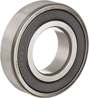 FAG 6202-2RSR-C3 Deep Groove Ball Bearing, Single Row, Double Sealed, Steel Cage, C3 Clearance, Metric, 15mm ID, 35mm OD, 11mm Width, 14000rpm Maximum Rotational Speed, 843lbf Static Load Capacity, 1750lbf Dynamic Load Capacity