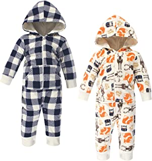 Hudson baby Baby Girls Unisex Baby and Toddler Fleece Jumpsuits and Coveralls Jumpsuit