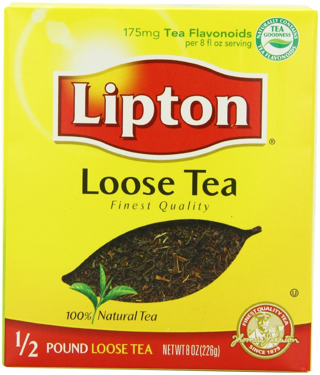 Lipton Cheap mail Seattle Mall order specialty store Black Loose Tea 8oz Box of Pack 3