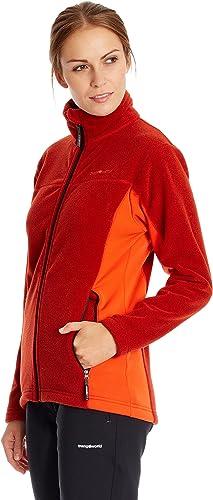Trangoworld Veste de sport - Femme Rouge rouge Orange M