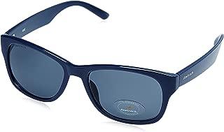 Fastrack UV Protected Unisex Sunglasses (PC001BK21|53 millimeters|Blue Lens)