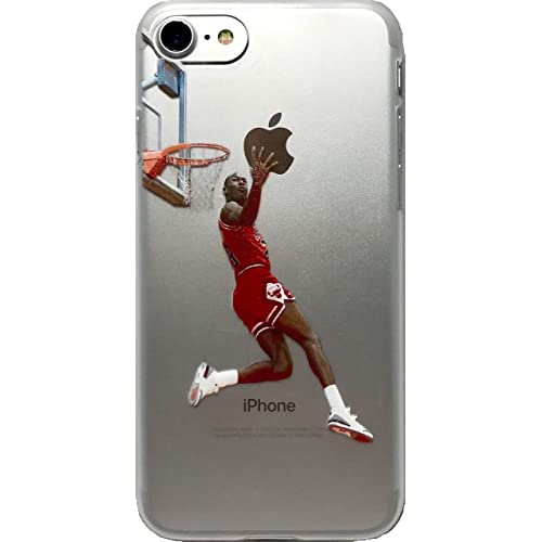 low priced 403f0 4800c ECHC Favorite Basketball Player Hard Plastic iPhone Case (Jordan Reverse  Dunk, iPhone 7 and