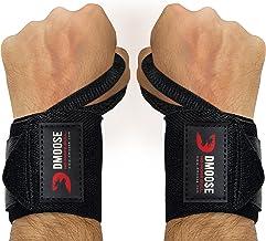 DMoose Fitness Wrist Wraps - Premium kwaliteit, sterke bevestigingsbanden, duimlusjes - Maximaliseer je gewichtheffen, pow...