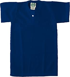 EMC Sports Unisex Two Button Youth Mesh jersey, Navy, Small