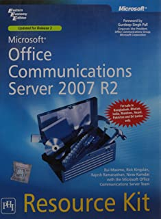 Microsoft Office Communications Server 2007 R2 Resource Kit (With CD ROM)