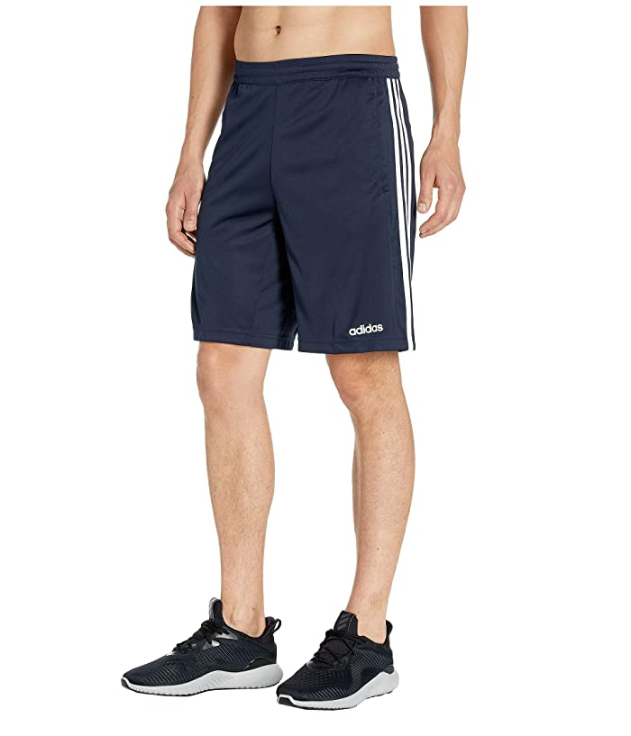 adidas D2M 3-Stripe Shorts (Legend Ink) Men