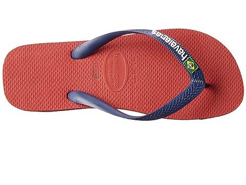Orange BlueNavy Havaianas Yellow 1Marine Logo Brown 1Dark BlueRed Flip Flops Brazil Citrus XxSr8Xn