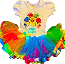 Baby Shark Birthday Party Dress 2nd Birthday Tutu Outfit