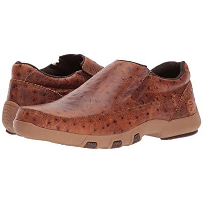 Roper Owen (Tan Ostrich Print Leather Upper) Men