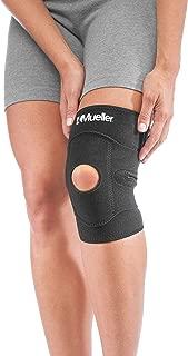 Mueller Adjustable Knee Support, Black, One Size   Adjustable Knee Brace