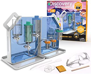 Discovery #MINDBLOWN Pack-N-Go Chemistry Set with 30 Different Experiments