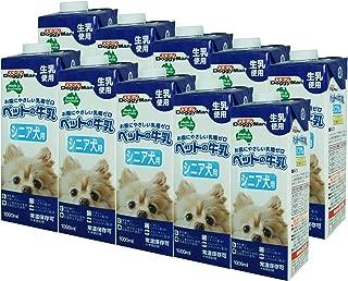 ドギーマン 犬用おやつ ペットの牛乳 シニア犬用 1000mL×10個 (ケース販売)