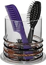 New Stackable Premium Crystal Clear Acrylic Headband and Hairbrush Holder Bedroom/Bathroom Decor by ARAD