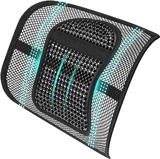 ASTOTSELL Soporte de espalda para silla de oficina, cojín de apoyo lumbar de malla, soporte de espalda inferior para mujeres y hombres, silla de oficina, asiento de coche, hogar