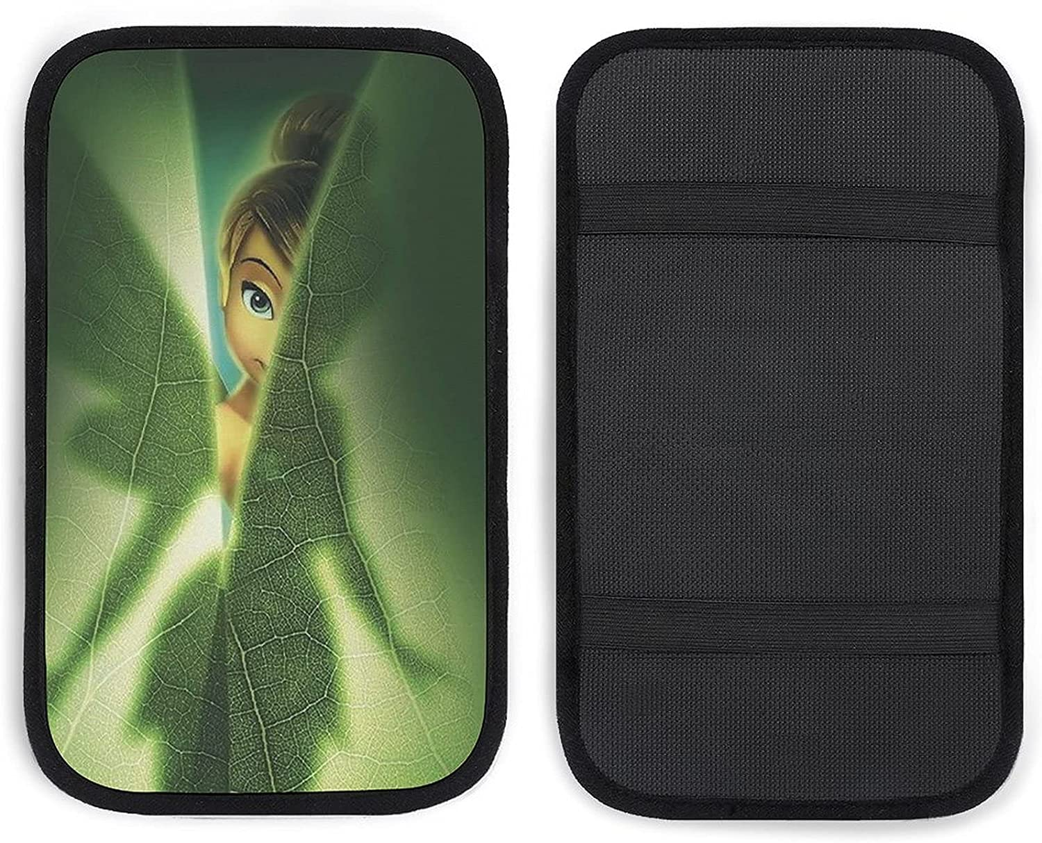 GUIJI Car Weekly update Armrest Tinkerbell Cover Pad Center Auto Console High quality new