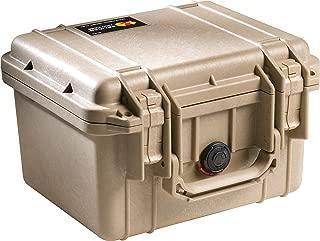 PELICAN 派力肯 #1300 安全箱摄影器材防护箱小型箱 (沙漠色) 含标准海绵
