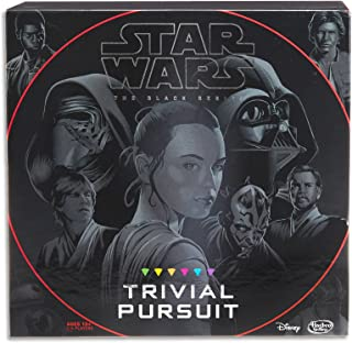 Trivial Pursuit - Star Wars - The Black Series Edition - Family Board Game