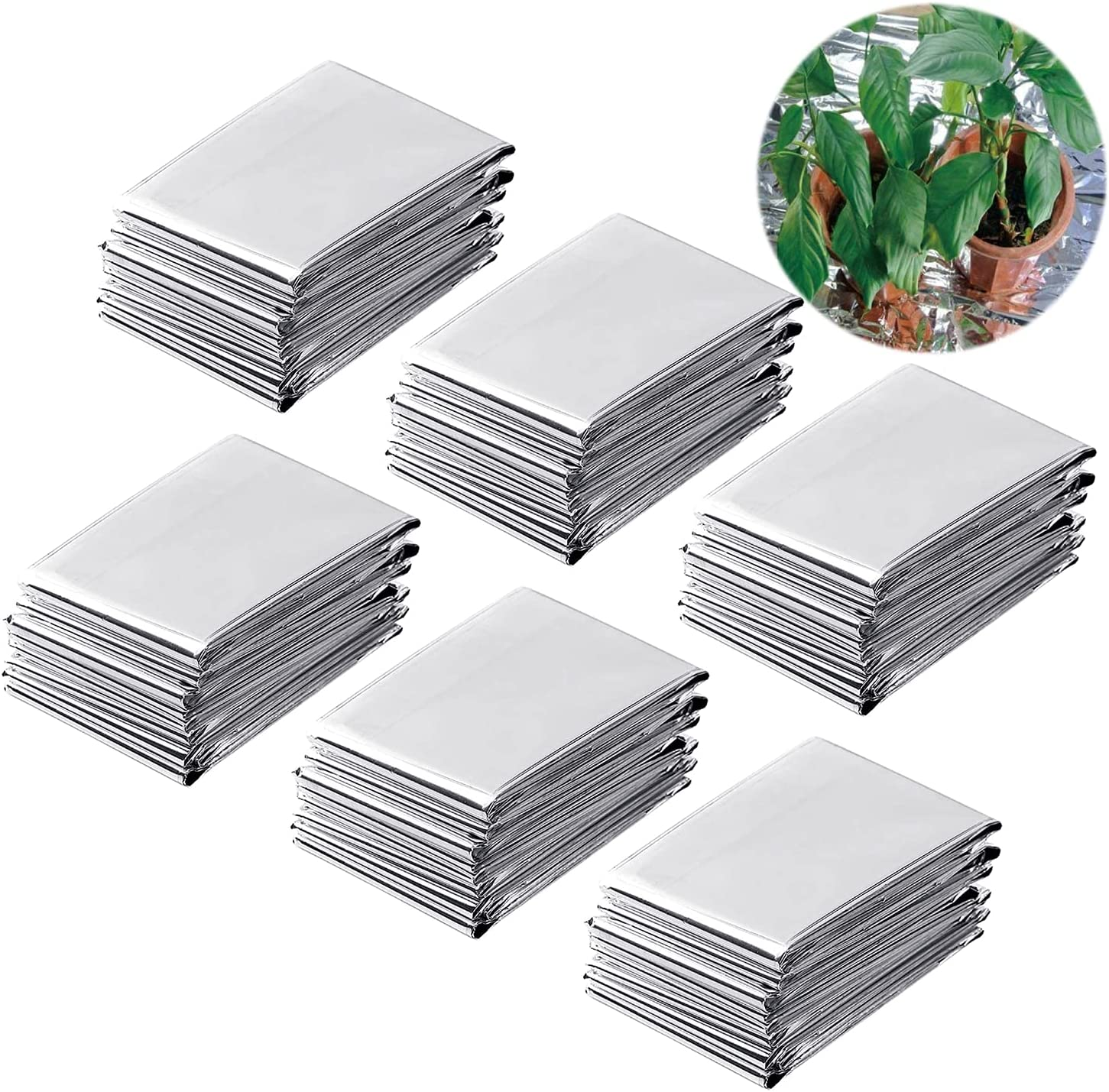 Plant Reflective Film Gardening Supplies for Greenhouse Garden Gardening Accessories Safe and Eco-Friendly PETP Film Silver Garden Plant Reflective Film