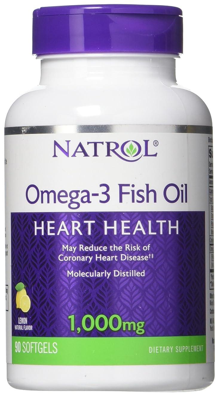 セミナー枯渇教養がある海外直送品Natrol (incl Laci Le Beau Teas) Omega-3 Fish Oil, 90 Softgels 1000 mg