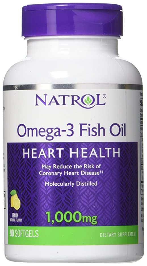 庭園助手馬鹿海外直送品Natrol (incl Laci Le Beau Teas) Omega-3 Fish Oil, 90 Softgels 1000 mg
