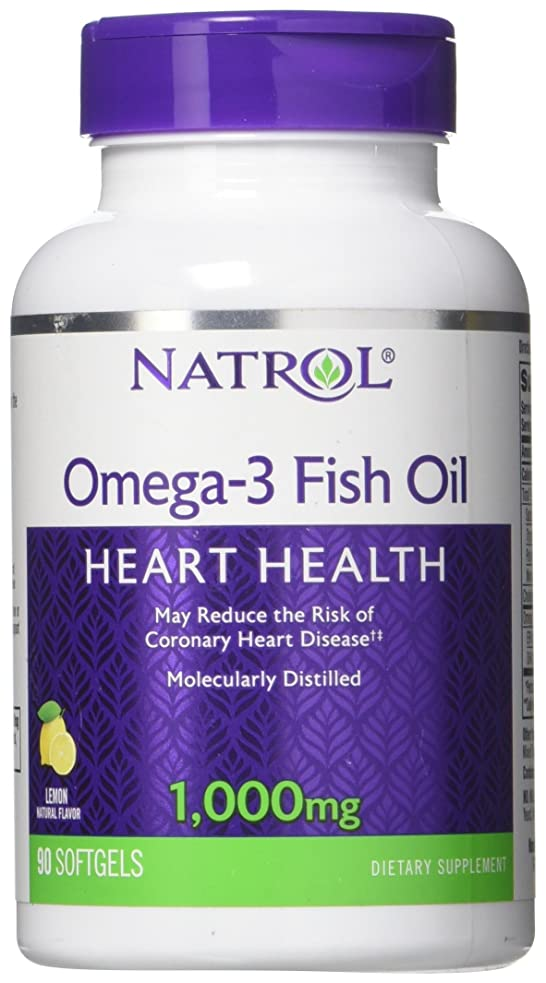 妖精怠惰性能海外直送品Natrol (incl Laci Le Beau Teas) Omega-3 Fish Oil, 90 Softgels 1000 mg