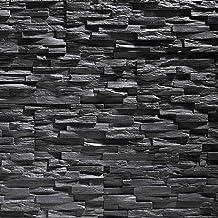 Paneles de poliestireno expandido / Benevento negro/ revestimiento de piedra / decoración para paredes / azulejos/ revestimiento para paredes