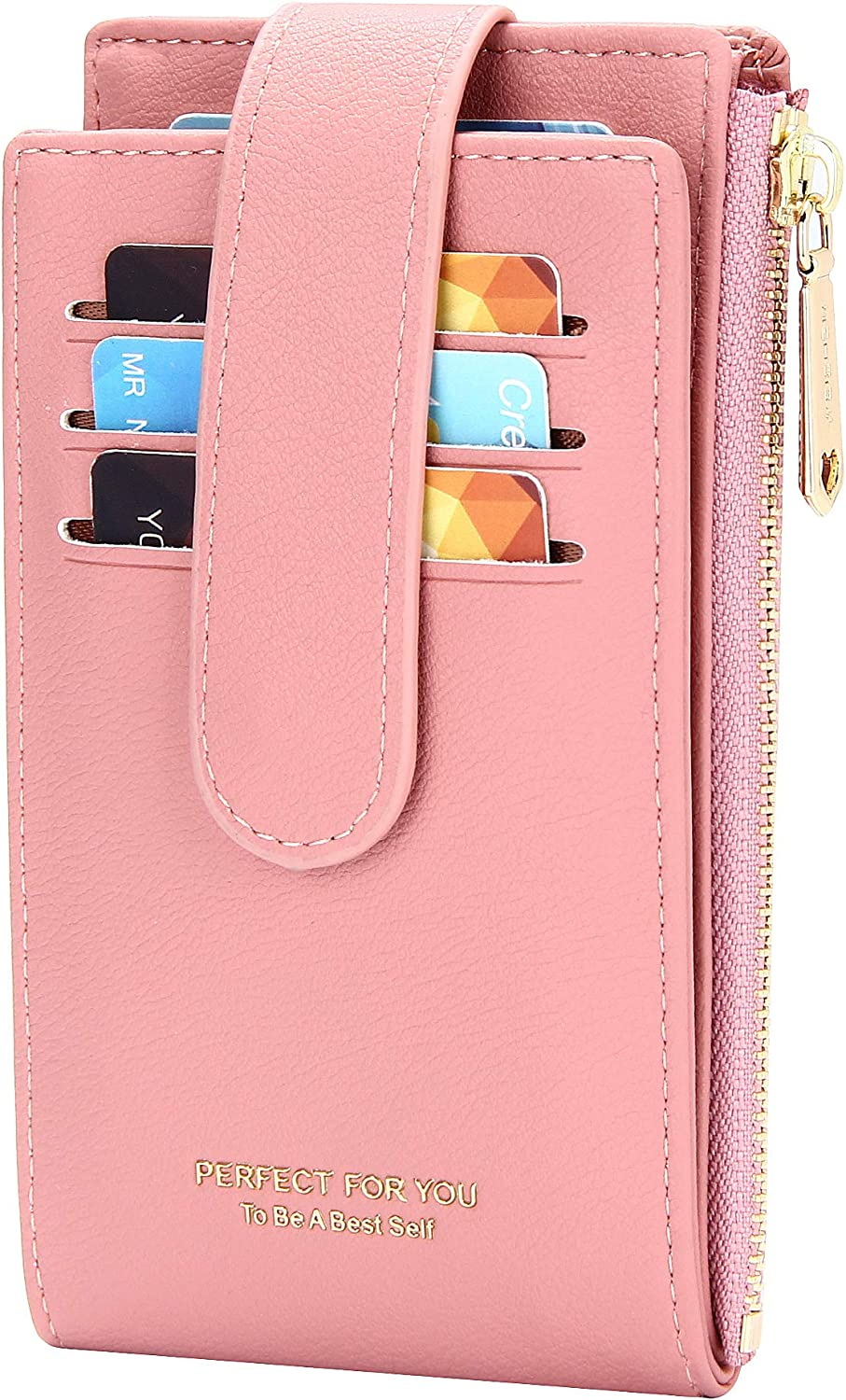 Some reservation OIDERY 35% OFF RFID Card Holder Wallet for Bifold Zipper Women Slim