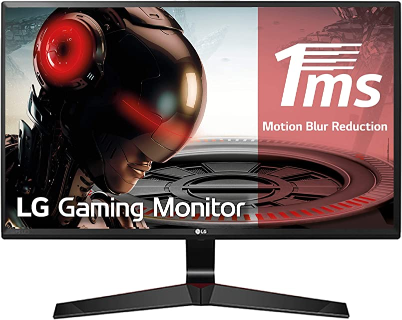 LG 27MP59G-P - Monitor Gaming FHD de 686 cm (27) con Panel IPS (1920 x 1080 píxeles 16:9 1 ms con MBR 75Hz 250 cd/m² 1000:1 sRGB >99%) Color Negro
