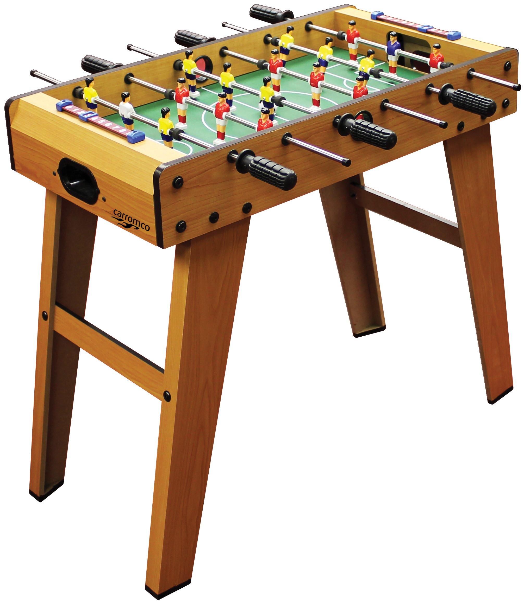 Carromco Futbolín Kick-XL, 05009: Carromco 05009 - Tischfussbalsspiel Kick-XL: Amazon.es: Juguetes y juegos