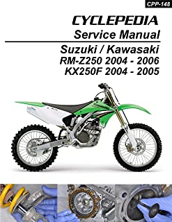 2004-2006 Suzuki RM-Z250/2004-2005 Kawasaki KX250 Service Manual