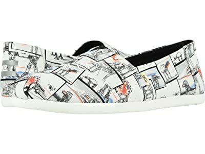 TOMS Star Warstm Alpargata 3.0 (White Star Wars AT Print) Men