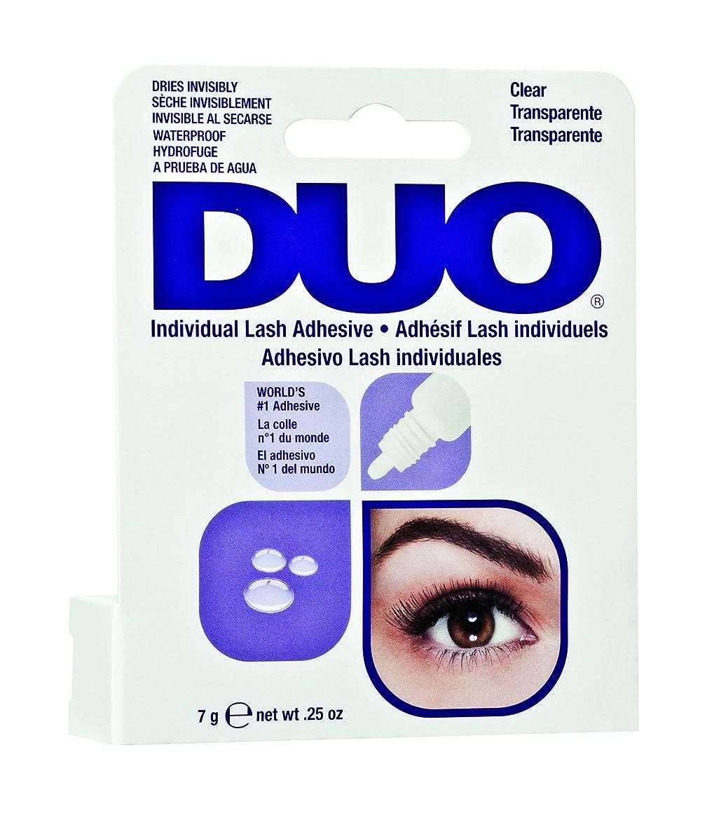 行動悲劇的なブッシュArdell Duo Adhesive - Individual Lash Adhesive - Clear - 0.25oz / 7g