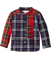 Burberry Kids - Argus Tuxedo Shirt (Infant/Toddler)