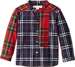 Burberry Kids Argus Tuxedo Shirt (Infant/Toddler)