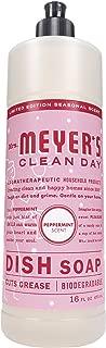 MRS Meyers Liquid Dish Soap, Peppermint, 16 Ounce