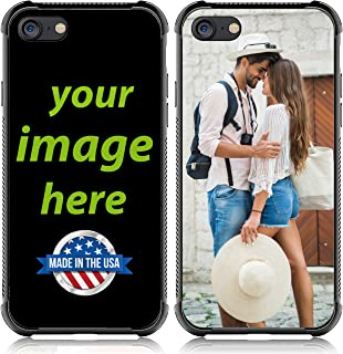 VIP Custom case for iPhone 7/8/6s/6/new SE (2020) Customized Phone case Anti_Scratch /Shock Resistant/Soft TPU and Glass Personalized Photo Make Your own Protective Picture Phone Cases