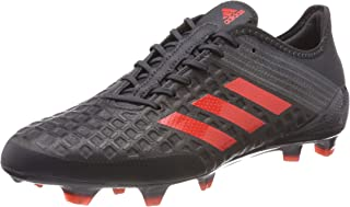 adidas Performance Predator Malice Control Firm Ground Rugby Boots Black - 13.5