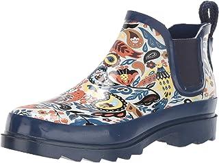 حذاء مطر برقبة طويلة للكاحل للنساء من ذا ساك, (Clay Echanted Forest), 37 EU